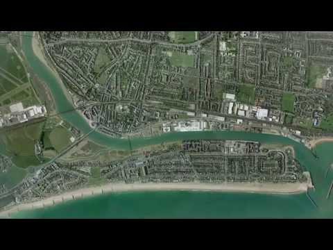 Flood defence scheme in Shoreham