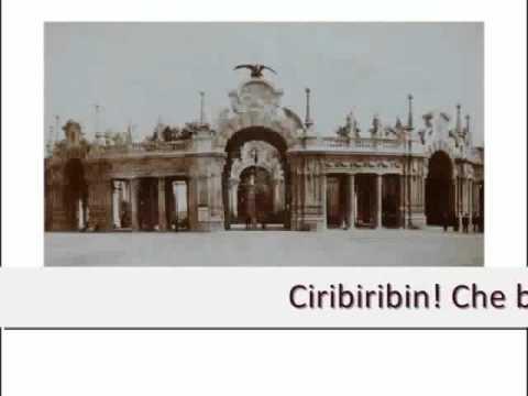 Canson piemontèisa - Ciribiribin