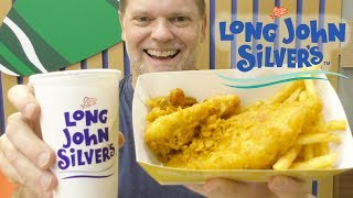 Long John Silver Chicken, Fish and Chips Review - Greg's Kitchen