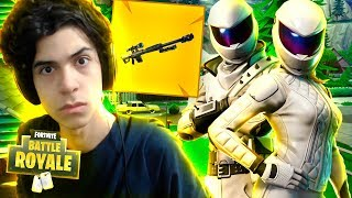 NOVA SNIPER NO FORTNITE E JOGANDO COM YOUTUBERS - DBRSTREAM