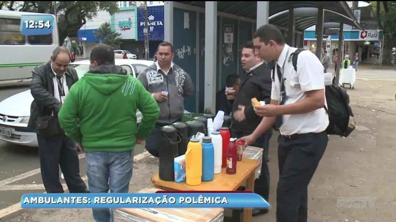 Vereador de Maringá faz projeto para regularizar a situação de ambulantes