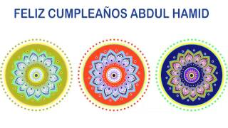 AbdulHamid   Indian Designs - Happy Birthday