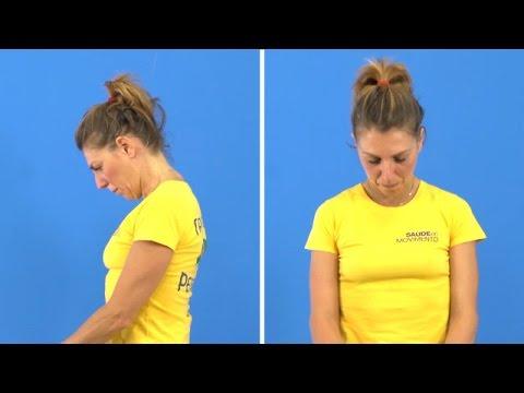 Esercizi efficaci per la cervicale | Sequenza da 8 minuti