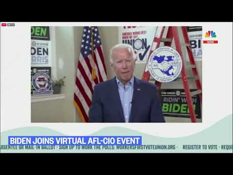 Joe Biden orders his staff to move up his teleprompter