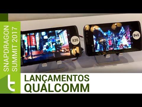 Snapdragon 845 e outras novidades da Qualcomm | TudoCelular.com