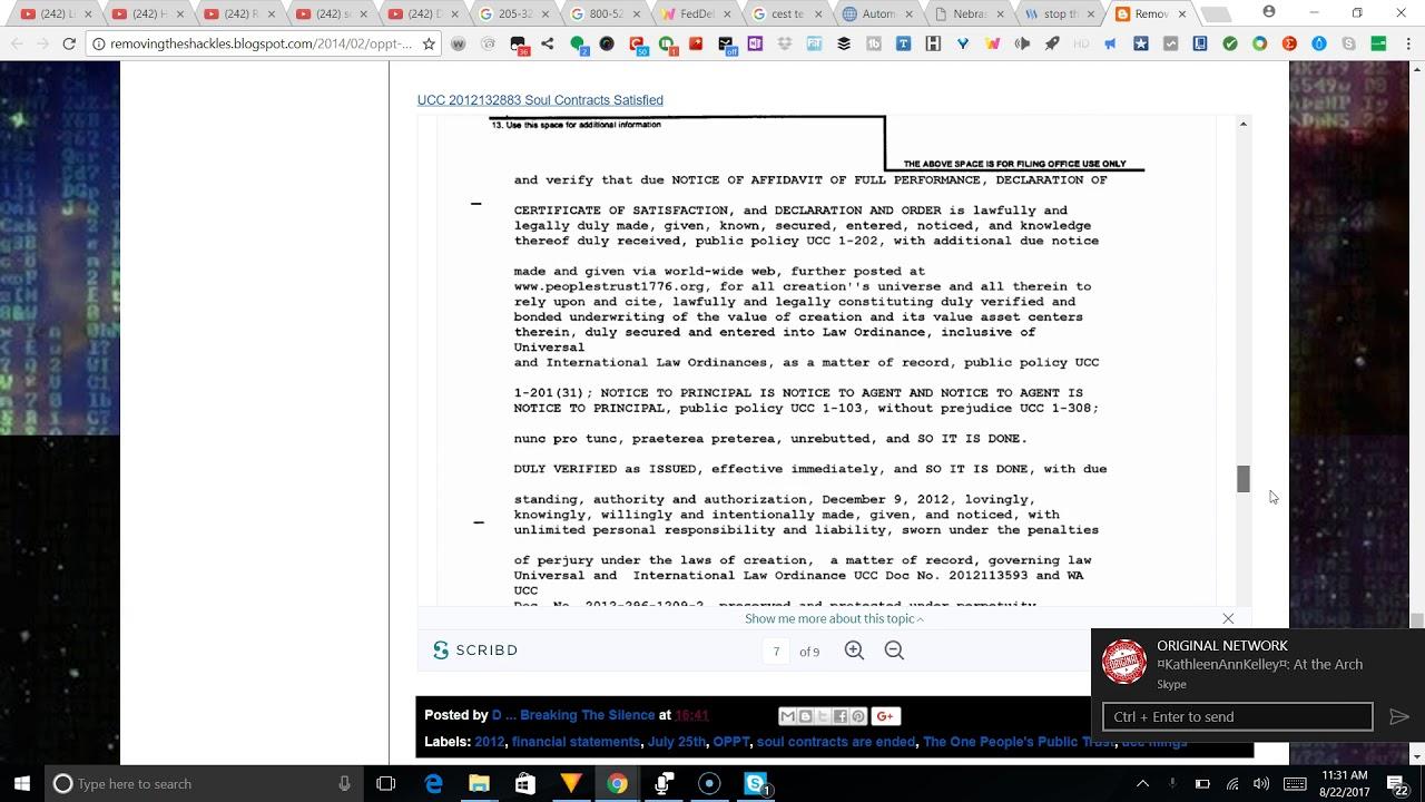 Very important docs for everyone regarding trust dont do ucc its very important docs for everyone regarding trust dont do ucc its already been done 1betcityfo Images
