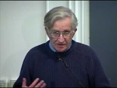 "Noam Chomsky ""The Occupation of Palestine: A Short History"""