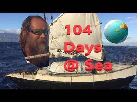 100 DAYS AT SEA IN A JUNK-RIGGED SAILBOAT WITHOUT AN ENGINE OR ELECTRONICS