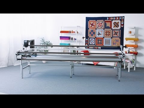 BERNINA Q 24 Tutorial: Quilt Frame Assembly