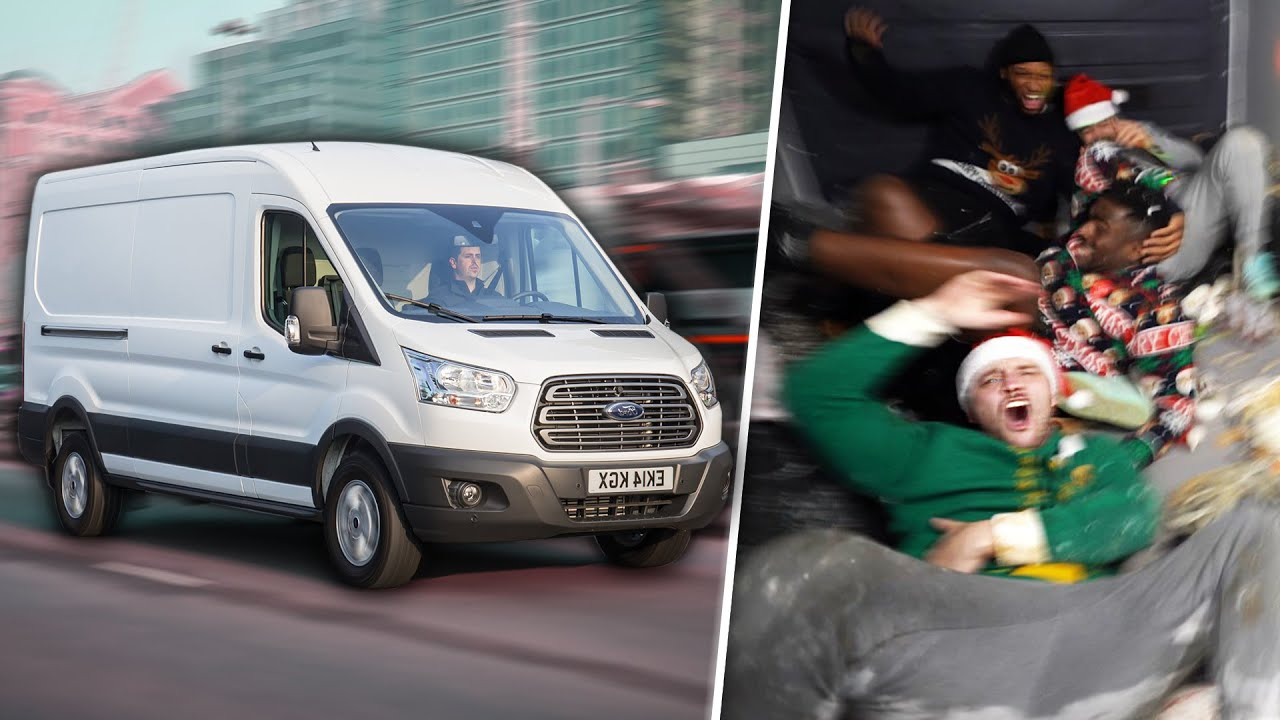 Download Extreme Christmas Party In A Moving Van! *CONCUSSION*