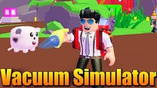 VYSAVAČOVÝ SIMULÁTOR?🤔😂 Roblox Vacuum Simulator