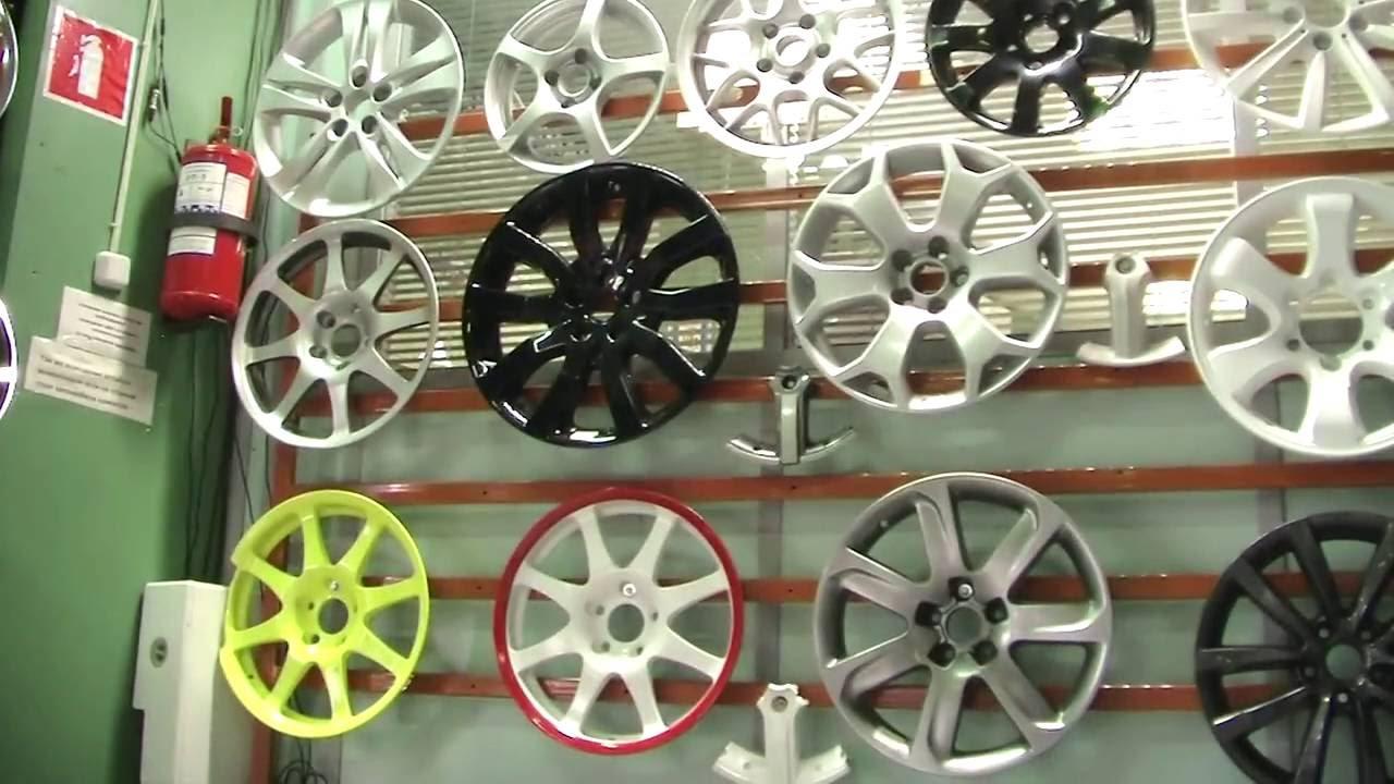 Покраска дисков БМВ 48 стиля ч.1