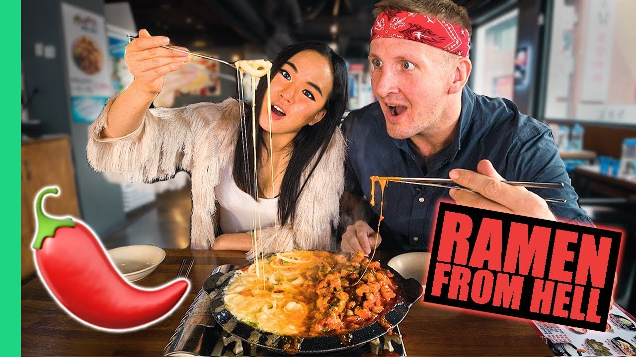 Spicy KOREAN FOOD Tour! Can Foreigners handle SPICY FOOD in Korea?