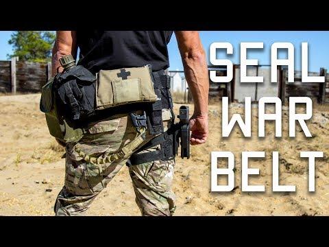 How a Navy SEAL sets up his War Belt   Duty Belt   Tactical Rifleman