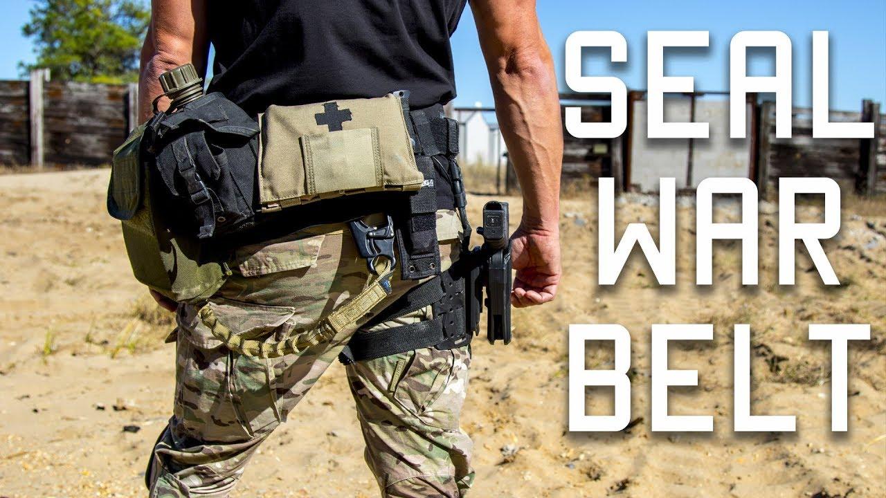 How A Navy Seal Sets Up His War Belt Duty Belt