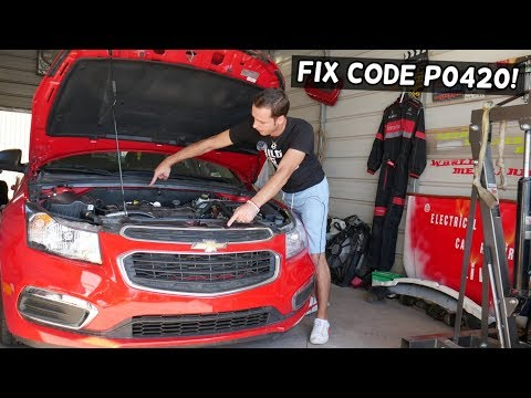 WHAT CAUSES CODE P0420 ENGINE LIGHT CHEVROLET, CHEVY, GMC, BUICK, CADILLAC