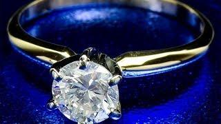 Золотое кольцо с бриллиантом 0.75 карат(, 2014-05-23T22:01:38.000Z)