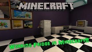 minecraft fridge working