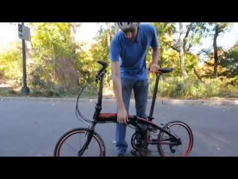 Riding The Dahon Vector X20 Folding Bike