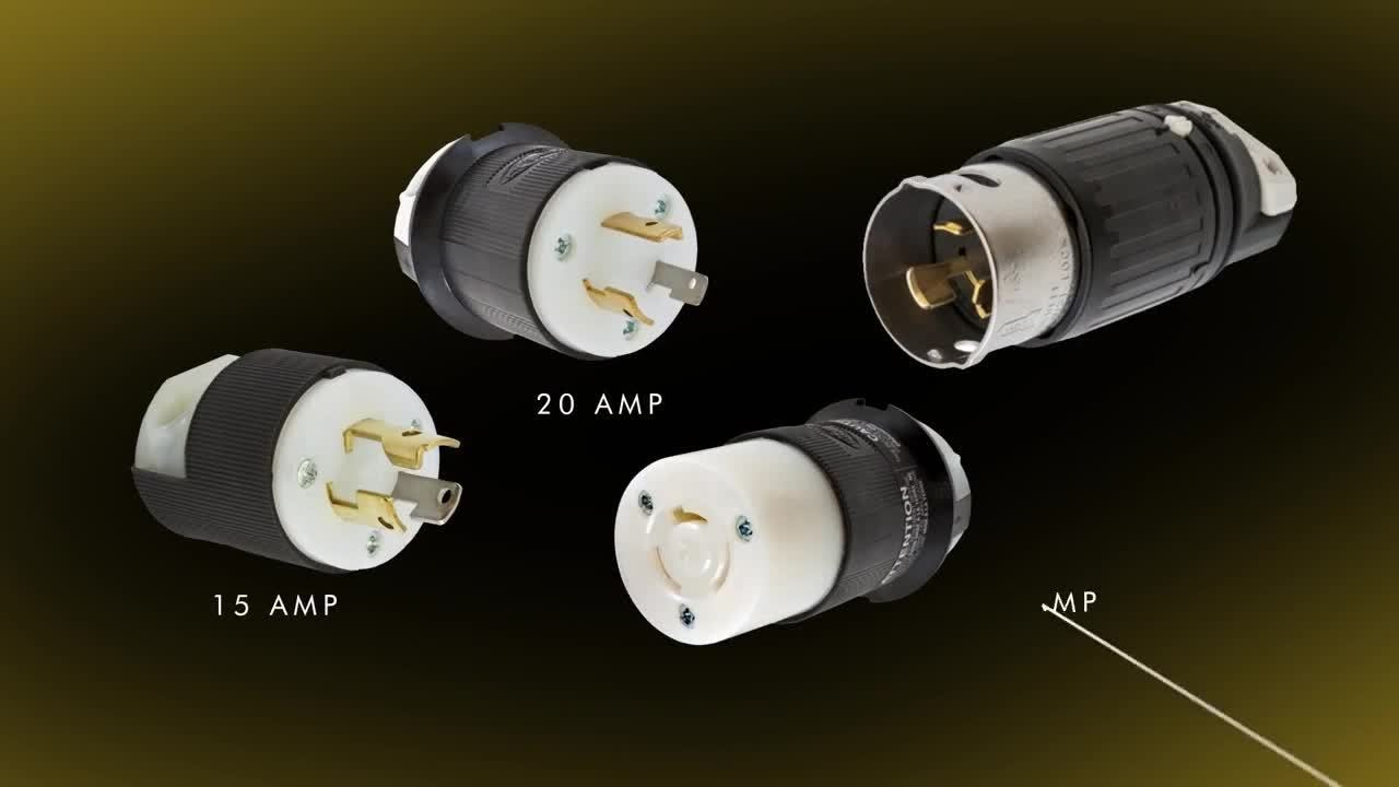 hubbell wiring device kellems twist lock devices [ 1280 x 720 Pixel ]