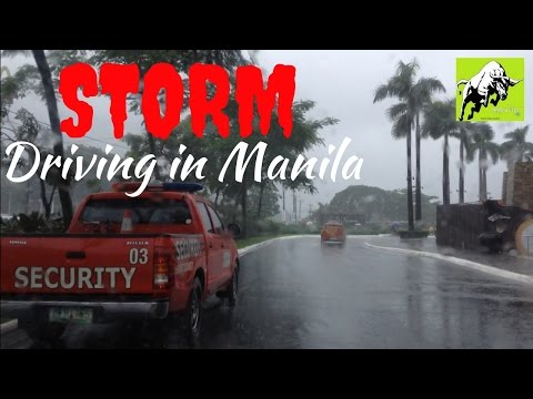 Storm Driving in Manila