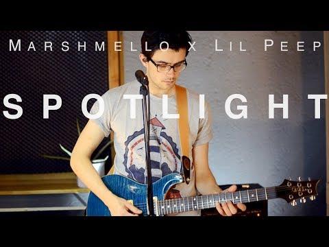 Marshmello x Lil Peep - Spotlight (Rock Cover by Matthias & Florian Grundei)