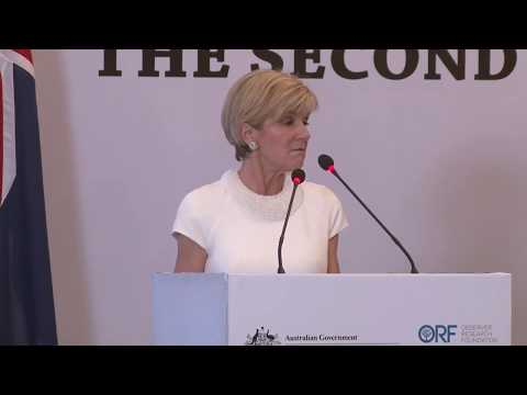 2nd Indo-Pacific Oration | Address by Australian Minister for Foreign Affairs Julie Bishop
