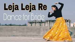 Leja Leja Re Dance • Wedding Choreography • Dhvani Bhanushali • Easy Dance steps