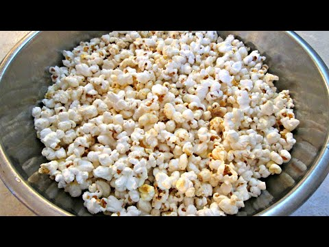 Movie Theater Popcorn - The Real Recipe Secret - PoorMansGourmet