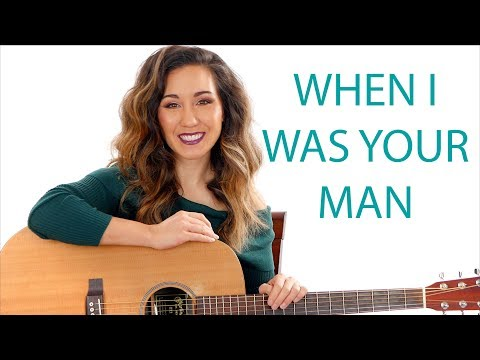 When I Was Your Man - Bruno Mars Guitar Tutorial With Play Along