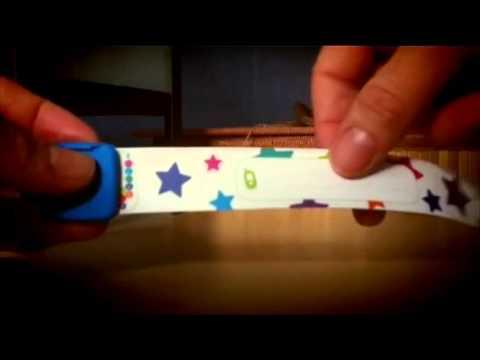 Bracelet de sécurité Kid Print
