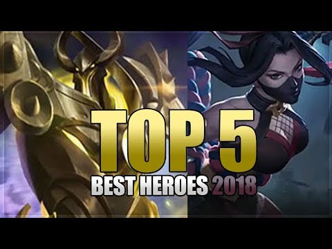 Mobile Legends: Top 5 Best Heroes - Before Hanabi and Uranus Release