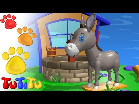 TuTiTu Animals | Animal Toys for Children | Donkey