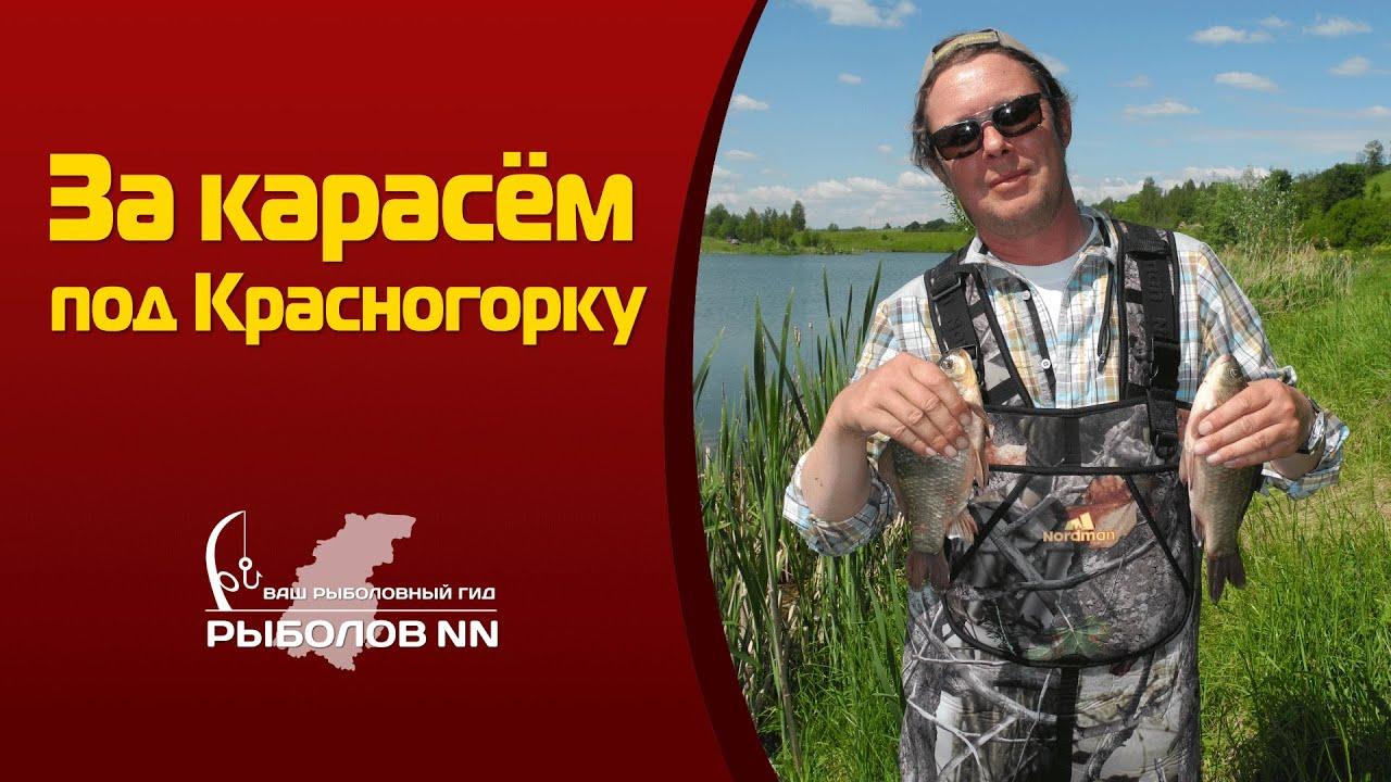 За карасём под Красногорку. Рыбалка в Нижегородской области.