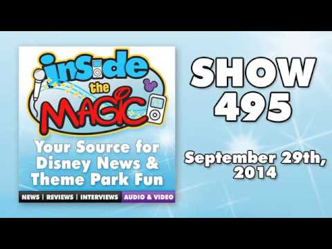Inside the Magic podcast - Show 495 - September 29, 2014