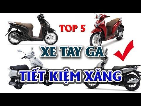 Top 5 Mẫu Xe Tay Ga Tiết Kiệm Xăng Nhất 2019 🔴 ĐAM MÊ XE TV