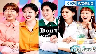 Guests : Hanyoung, Kim Saerom, Din Din, Weki Meki (Doyeon&Sei)[Hello Counselor/ENG,THA/2018.03.05]