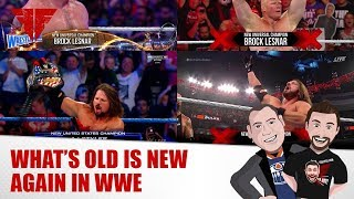 List & Ya Boy Wrestling Podcast #131: New Is Old In WWE, Bayley, AEW, Extreme Rules, Balor thumbnail