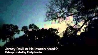 Jersey Devil sighting or elaborate Halloween prank?