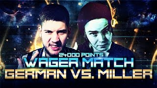 GERMAN VS GENA MILLER / WAGER!