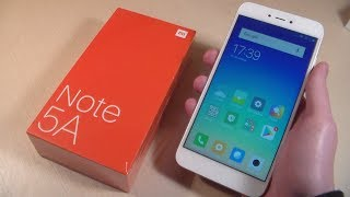 обзор Xiaomi Redmi Note 5A (2GB/16GB)