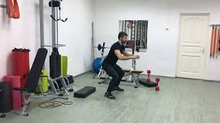 Общая тренировка 5 - 6 недели курса похудения. Фитнес Школа Онлайн LeaderFit.ru