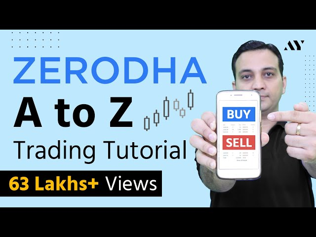 Zerodha Trading Tutorial & Kite App Demo for Intraday & Share Delivery - Zerodha Buy Sell Process
