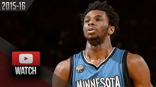 Andrew Wiggins Full Highlights at Warriors (2016.04.05) - 32 Pts, 6 Stls, Stunning!