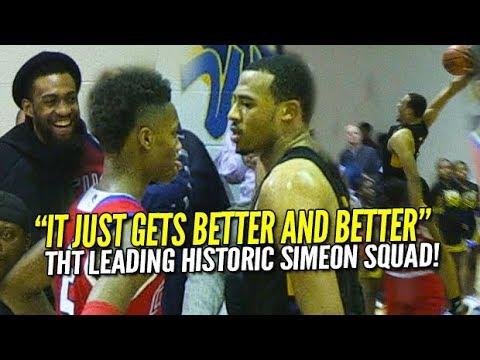 Talen Horton-Tucker Does Everything! Jabari Parker Watches Most DOMINANT Simeon Team Ever!