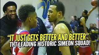 Talen Horton-Tucker Does Everything! Jabari Parker Watches Most DOMINANT Simeon Team Ever!
