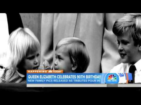 Queen Elizabeth with young Charles: Rare video released on her 90th birthday
