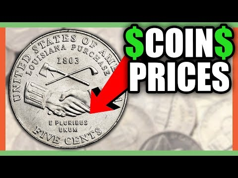 WHAT IS A 2004 NICKEL WORTH? RARE NICKELS WORTH MONEY!!
