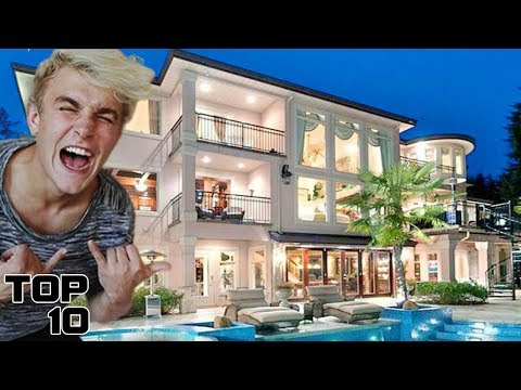 Top 10 Most EXPENSIVE YouTuber Homes