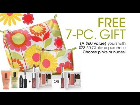 clinique bonus time macy s spring 2012 youtube